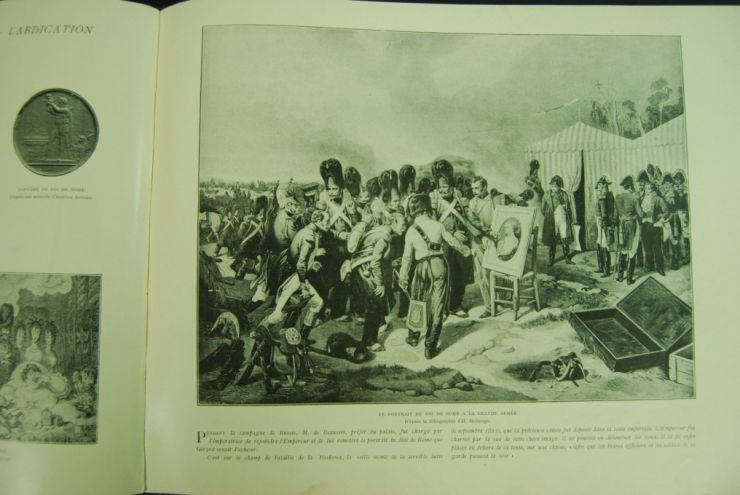 Siglo XIX/ Libro Dedicado Sobre la Vida de Napoleón Bonaparte